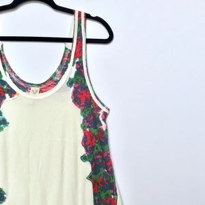 We The Free Floral Swing Tank